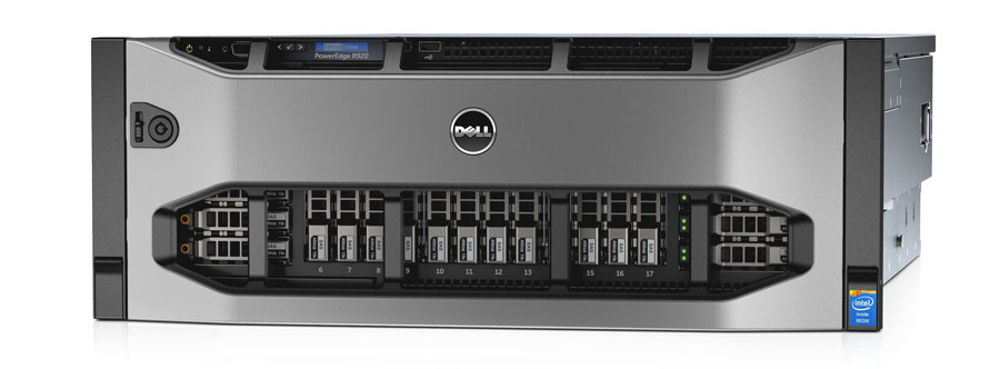 Dell PowerEdge R920. Сервер превосходно подходит для многопоточных приложений