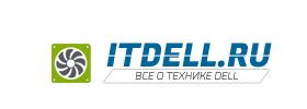Логотип сайта что до технике Dell itdell.ru