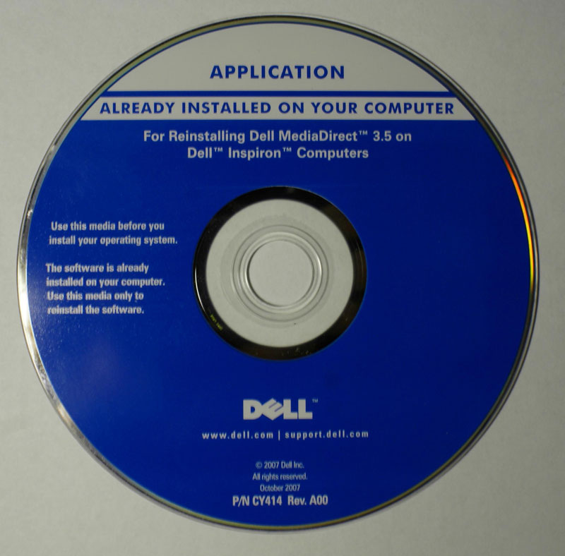 dell inspiron 1525 recovery drivers vista 32 bit