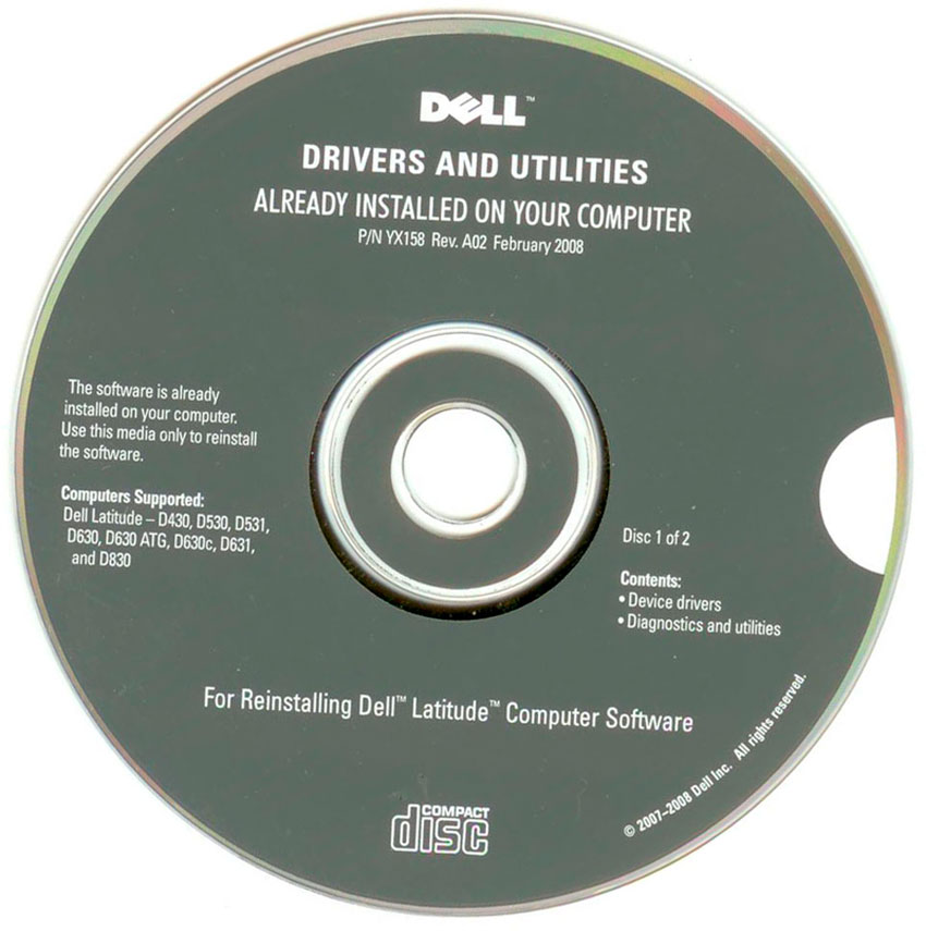 Dell Drivers And Utilities Media Download